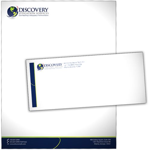 letterhead and envelopes appeal design